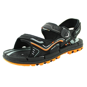 Water Release Snap Lock Sandal: 9254 Orange (Size: Men 8.5-12 & Women 9.5-13.5)