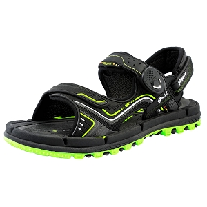 Water Release Snap Lock Sandal: 9254 Green (Size: Men 10-12 / Women 11.5-13.5)