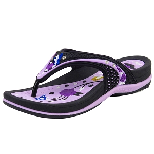 Signature Flop: 5893 Purple (Size 5.5-7.5)