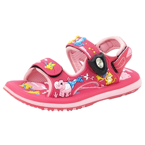 Classic Sandals for Kids: 5935B Fuchsia (Size: T6.5-12.5)