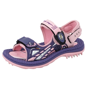 Signature Sandals for Kids: 6945B Purple (Size: T9.5-11)