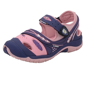 Snap Lock Sandal: 6964B Purple Pink (Size: EU31-35)