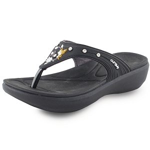 Ladies' Memory Foam: 7530 Black (Size: 4-8.5)