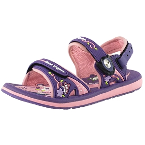 Classic Snap Lock Sandal: 7614 Purple