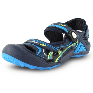 Snap Lock Sandal: 7643 Blue (Size: Men 8-12, Women 9-13)