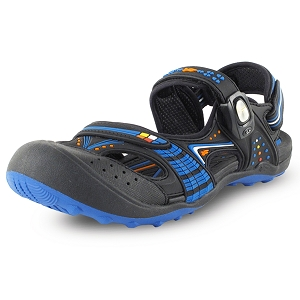 Snap Lock Sandal: 7668 Blue (Size: Kids 4.5-7, Women 5.5-9)