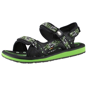 Classic Snap Lock Sandal: 9118 Green (Men 11-11.5)