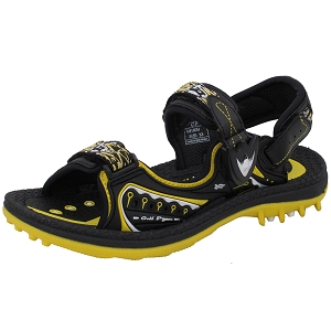 Kids Signature Sandal: 9180B Yellow (Size: 3/3.5)