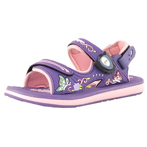Classic Snap Lock Sandal: 7605 Purple