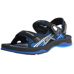 Air Cushion Snap Lock Sandal: 7672 Blue (Size: EU40-43)