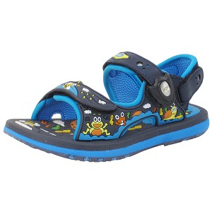 Classic Sandals for Kids: 8681B Navy (Size: T11-11.5)