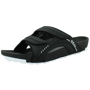 Pirogue Orthopedic Slide: 9030 Black (Size: EU39-44)