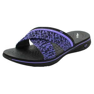 Eva Anti-Fatigue Cushion Slide: 9087 Purple (Size: Women 4.5-7)