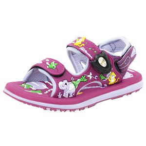Classic Sandals for Kids: 5935B Purple (Size: T6.5-12.5)