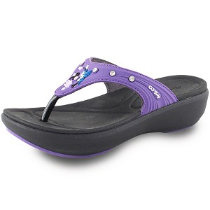 Ladies' Memory Foam: 7530 Purple (Size: 4-8)