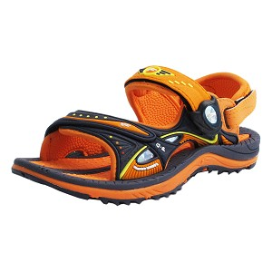 Signature Snap Lock Sandal: 7611 Orange