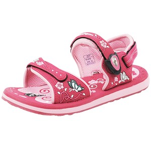 Classic Sandals for Kids: 9165B Fuchsia (Size: T8.5-9 / K2.5-4)