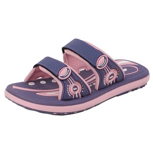 Classic Slides for Kids: 6888B Pink Purple (Size: T10-K1)