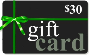 Gift Card- $30